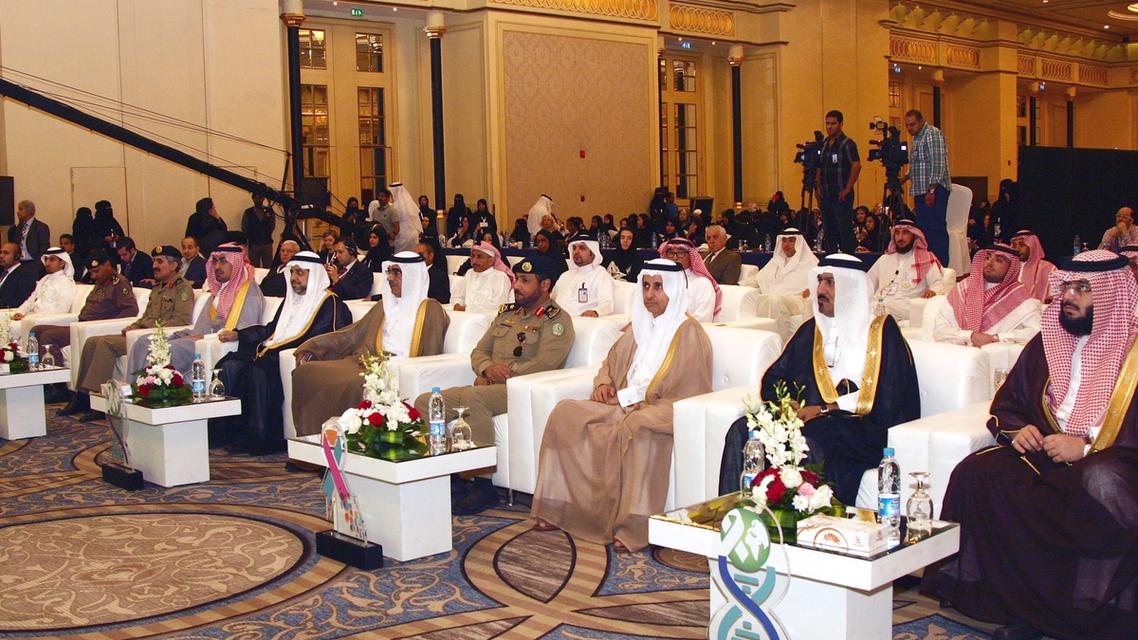 أمير الشرقية خلال افتتاح المؤتمر العالمي لأمراض السرطان