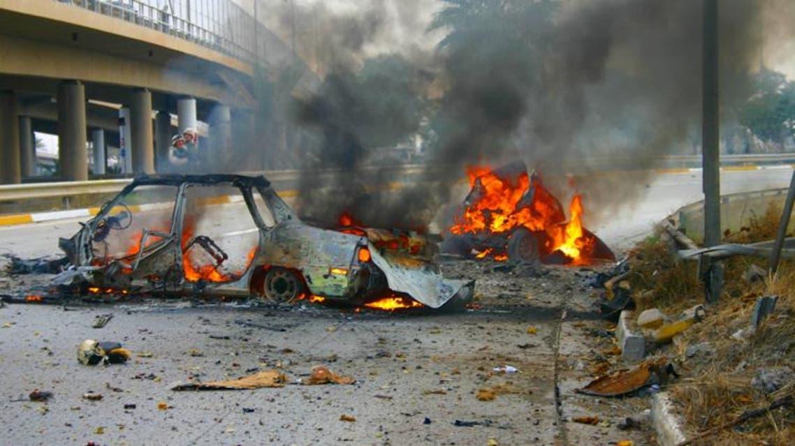 تفجير في بغداد