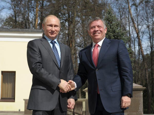 العاهل الأردني يزور موسكو لبحث التعاون وأزمة سوريا
