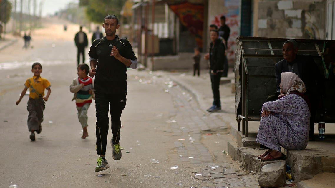 العداء الفلسطيني نادر المصري