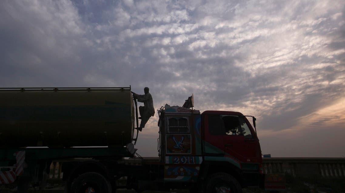 pakistan nato truck reuters