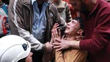 اسدی فوج کے آتش گیر بیرل بم حملوں پر عوام پھٹ پڑے