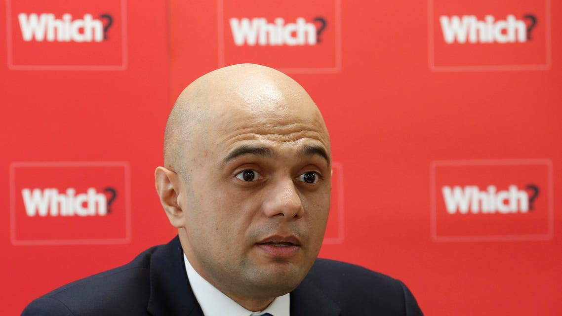 Britain's Economic Secretary to the Treasury Sajid Javid speaks during a news conference about the consumer payday loan market, in London March 6, 2013. (Reuters)