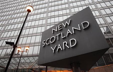 Scotland Yard Police said Wednesday they were holding four suspects accused of attacking three Emirati women who were staying at a luxury London hotel.