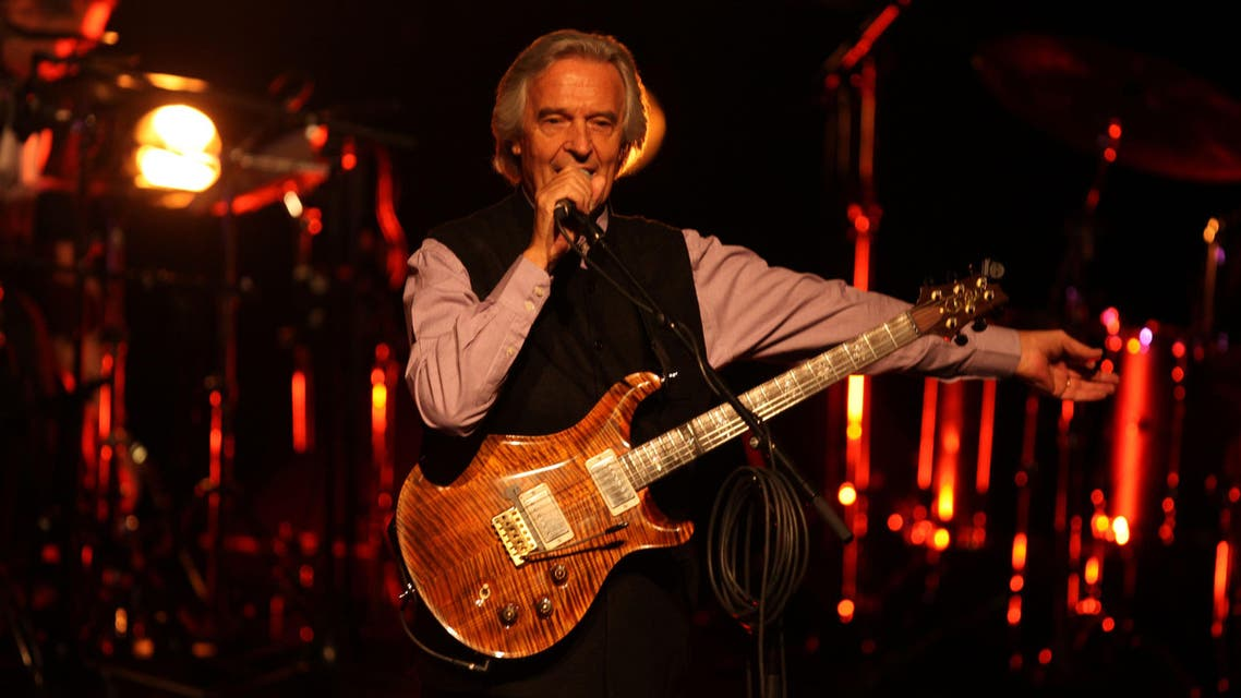 guitarist John McLaughlin AFP