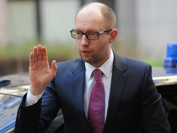 رئيس وزراء أوكرانيا يزور شرق البلاد الناطق بالروسية