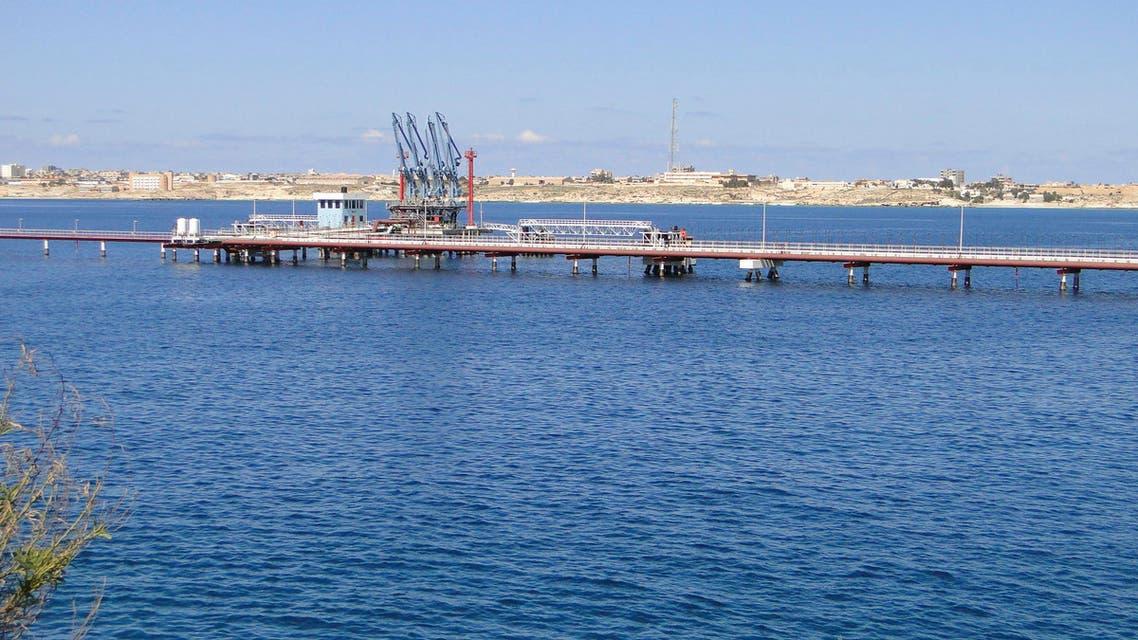 hariga port libya reuters