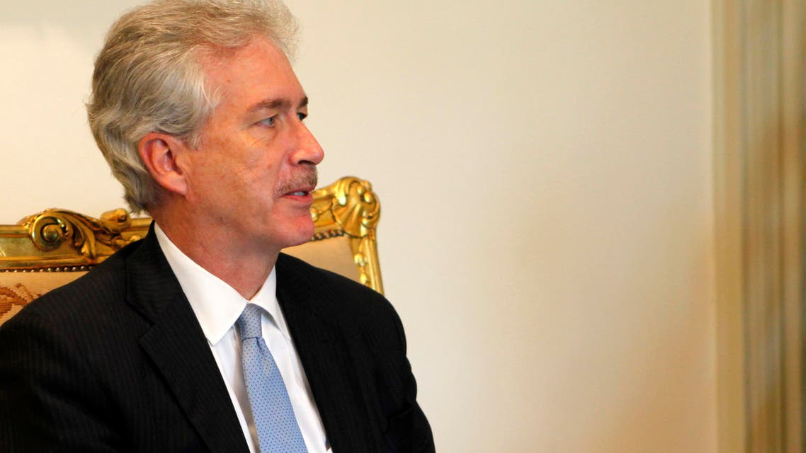 U.S. Deputy Secretary of State William Burns attends a meeting with Egypt's interim President Adli Mansour at El-Thadiya presidential palace in Cairo, July 15, 2013. (Reuters)
