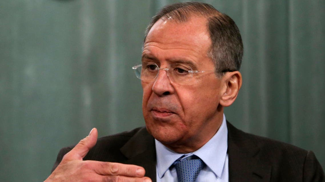 Russia's Foreign Minister Sergei Lavrov speaks during a news conference after a session of the Council of foreign ministers representing Commonwealth of Independent States (CIS) in Moscow, April 4, 2014. (Reuters)