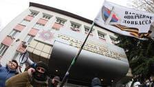 مسلحون موالون لروسيا يسيطرون على مبنى شرق أوكرانيا
