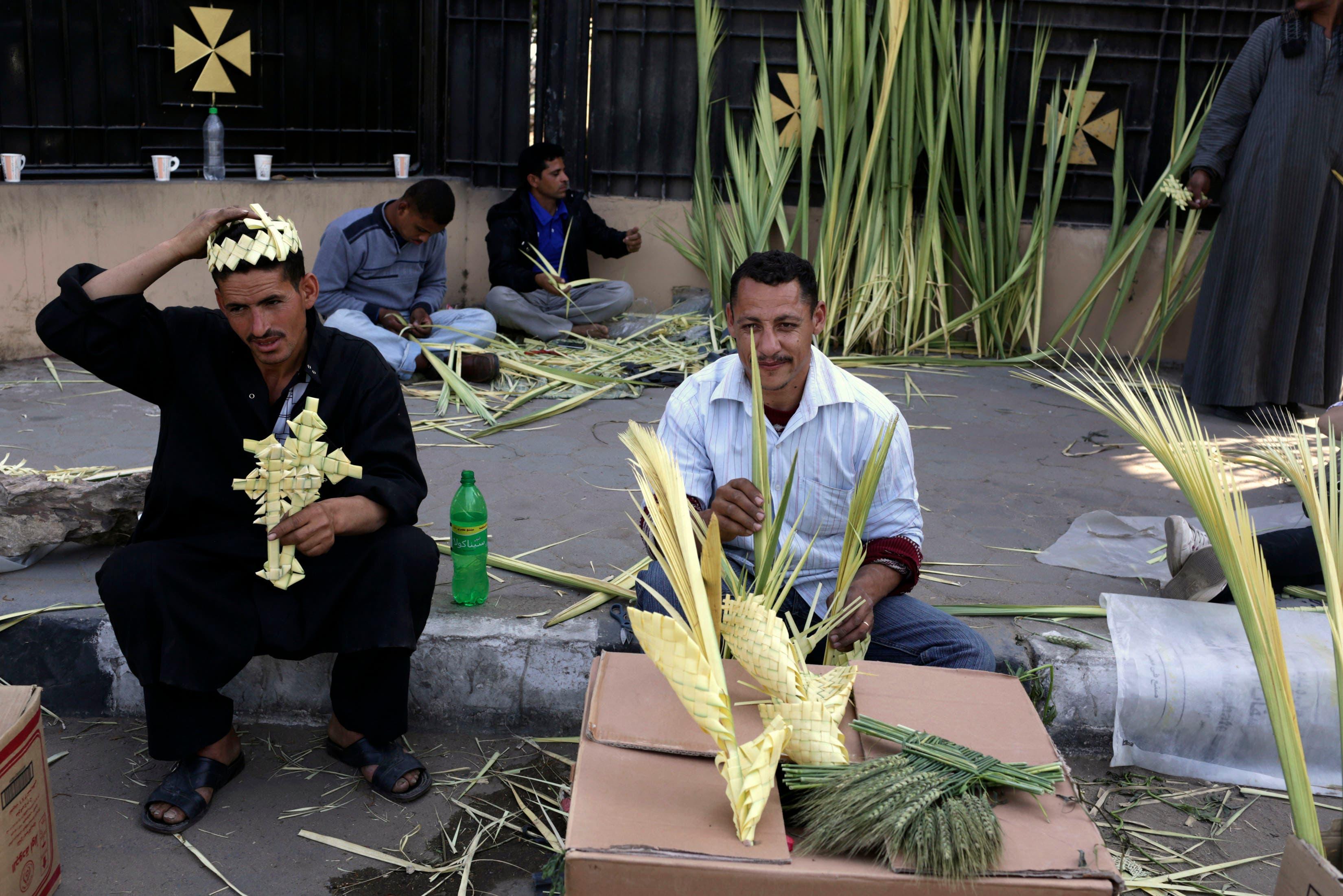 Palm Sunday celebrations