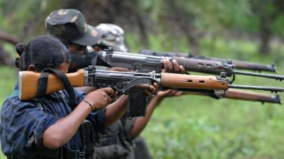 ndian Maoists at a training camp in Chhattisgarh. (AFP)