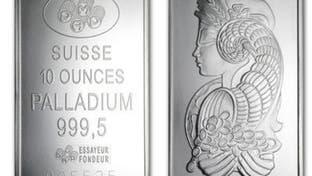 أسعار البلاديوم تقفز متجاوزة 2500 دولار للأونصة