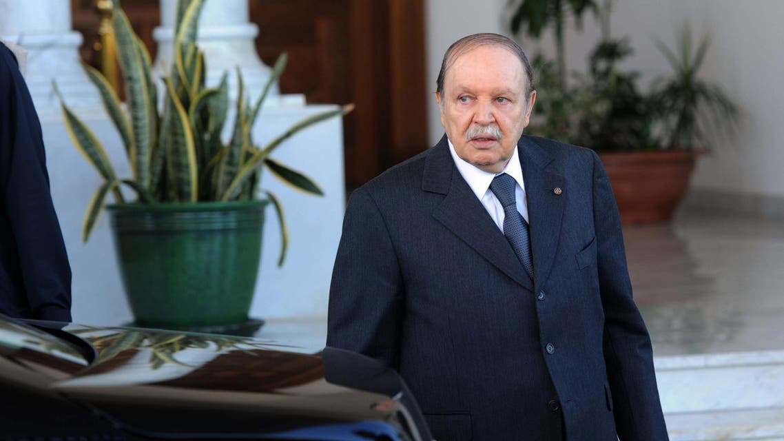 Bouteflika, who is running for a fourth term in April 17's presidential vote, is widely expected to win despite his frail health preventing him from even campaigning. AFP