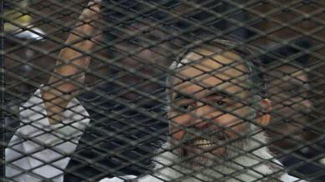 حازم ابو اسماعيل اثناء محاكمته
