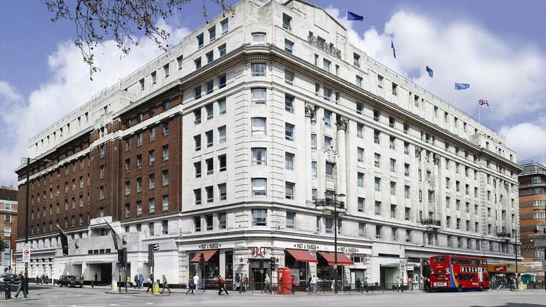 London's four-star Cumberland Hotel, where the the women were attacked on Sunday morning. (Photo courtesy Essentialhotels.co.uk)