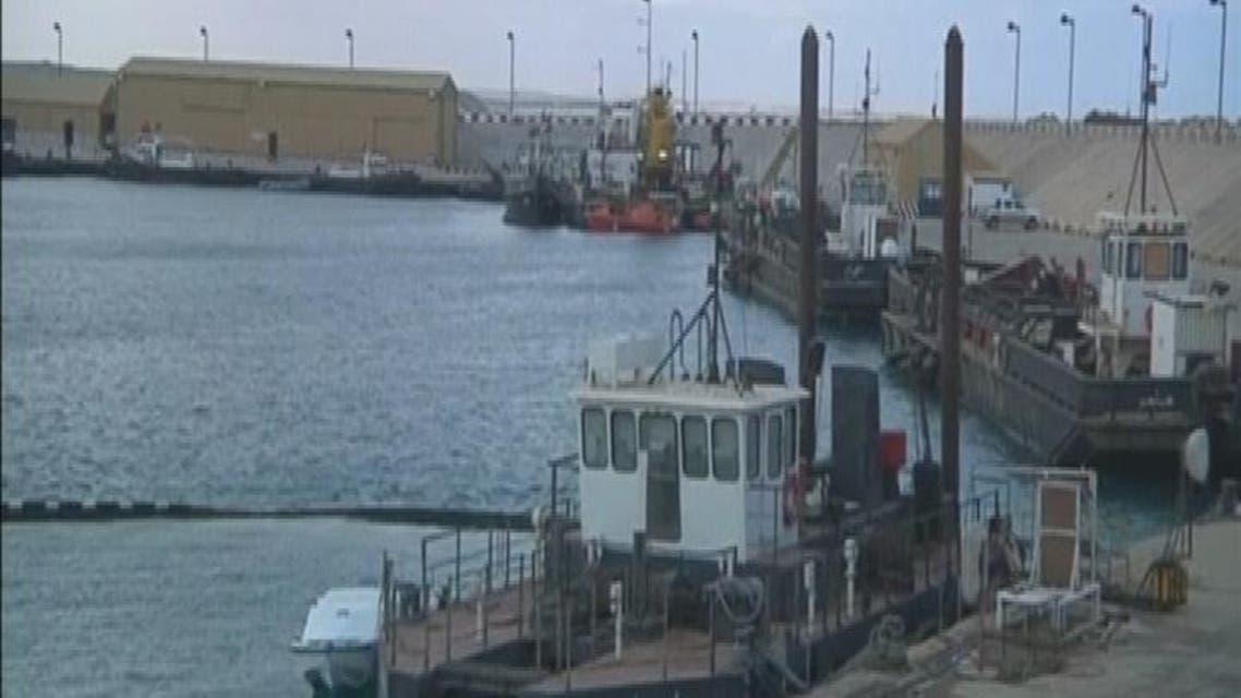THUMBNAIL_ ميناء الحريقة يعود إلى العمل بعد هدنة حكومة ليبيا
