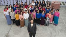 Man with 39 wives courted in India election