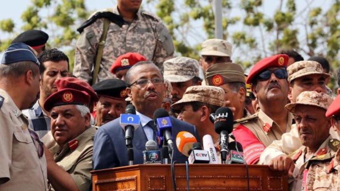 رئيس الوزراء الليبي المكلف، عبدالله الثني ليبيا