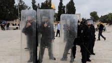 Israeli police, Palestinians clash at al-Aqsa