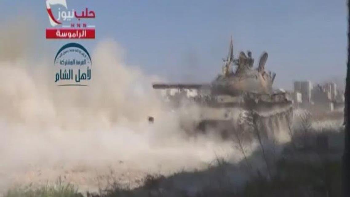 THUMBNAIL_ الجيش الحر: المخابرات الجوية في حلب على وشك السقوط