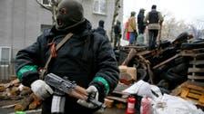 Ukrainian president: Russia waging 'war'
