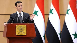 الأسد: الأزمة السورية في