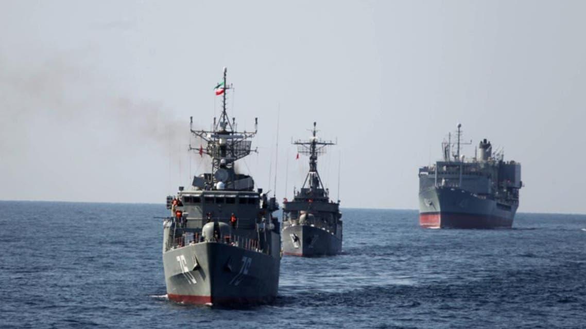 سفن حربية ايرانية سفينة حرية ايران