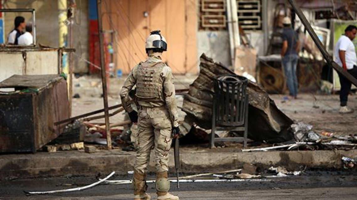 انفجار في مدينة الصدر في العراق