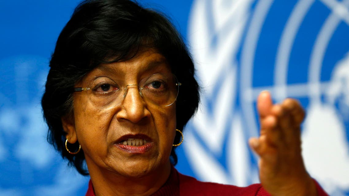 U.N. High Commissioner for Human Rights Navi Pillay (File photo Reuters)