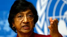 U.N. rights chief condemns torture in Syrian jails