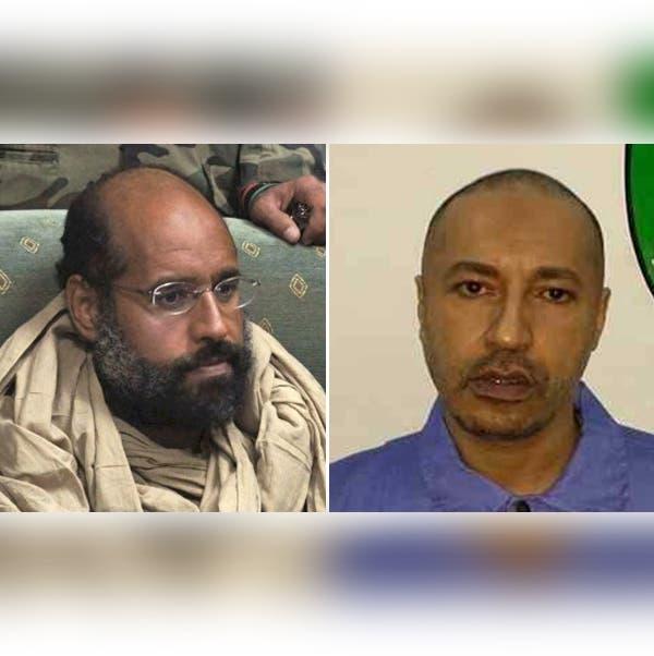الساعدي وسيف الإسلام القذافي