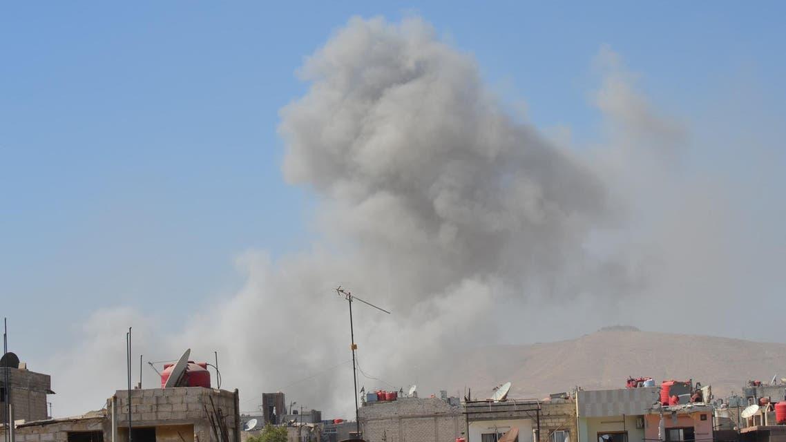 القصف على ريف دمشق