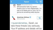 Teenager backtracks after tweeting threat at American Airlines