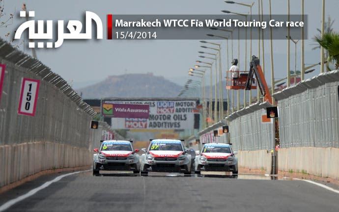 Marrakech WTCC Fia World Touring Car race