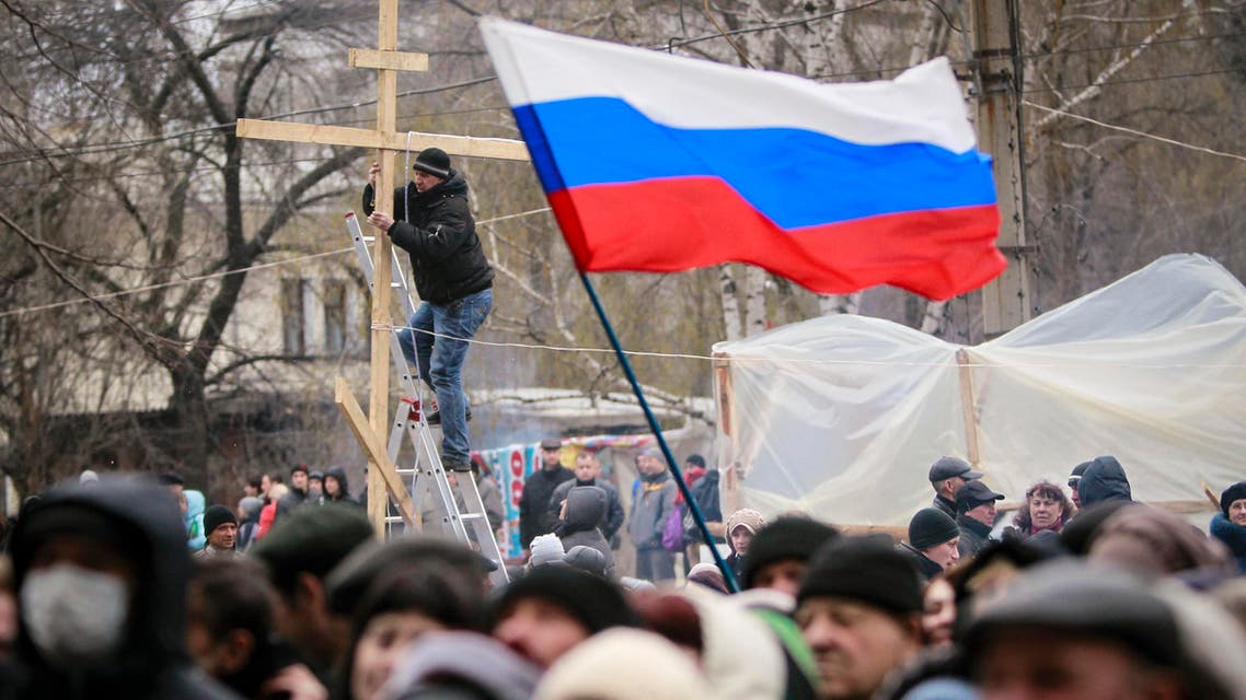 pro russia ukraine reuters