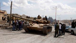 النظام ينفذ عملية عسكرية في أحياء حمص المحاصرة