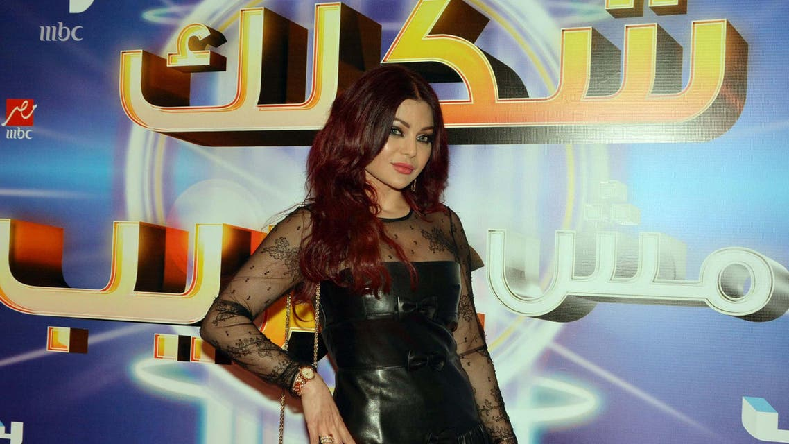 Lebanese star Haifa Wehbe will be part of the jury on 'Your Face Sounds Familiar'. (Photo courtesy: MBC Group)