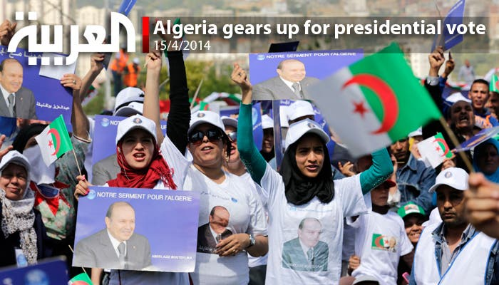 Algeria gears up for presidential vote