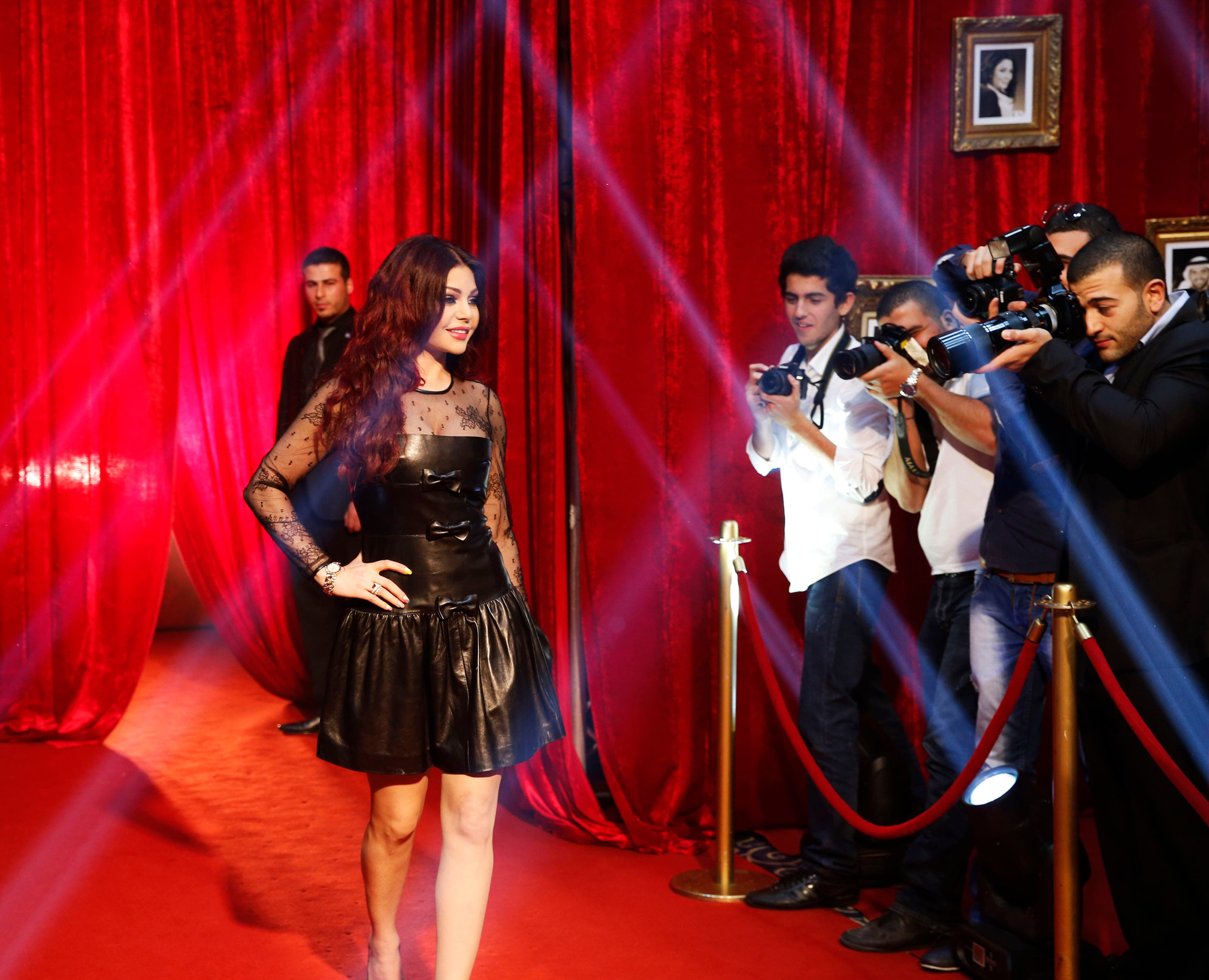 Lebanese star Haifa Wehbe will be one of the jury members on 'Your Face Sounds Familiar'. (Image: MBC)