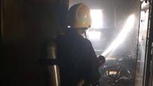 حريق بإحدى المدارس الأهلية في تبوك