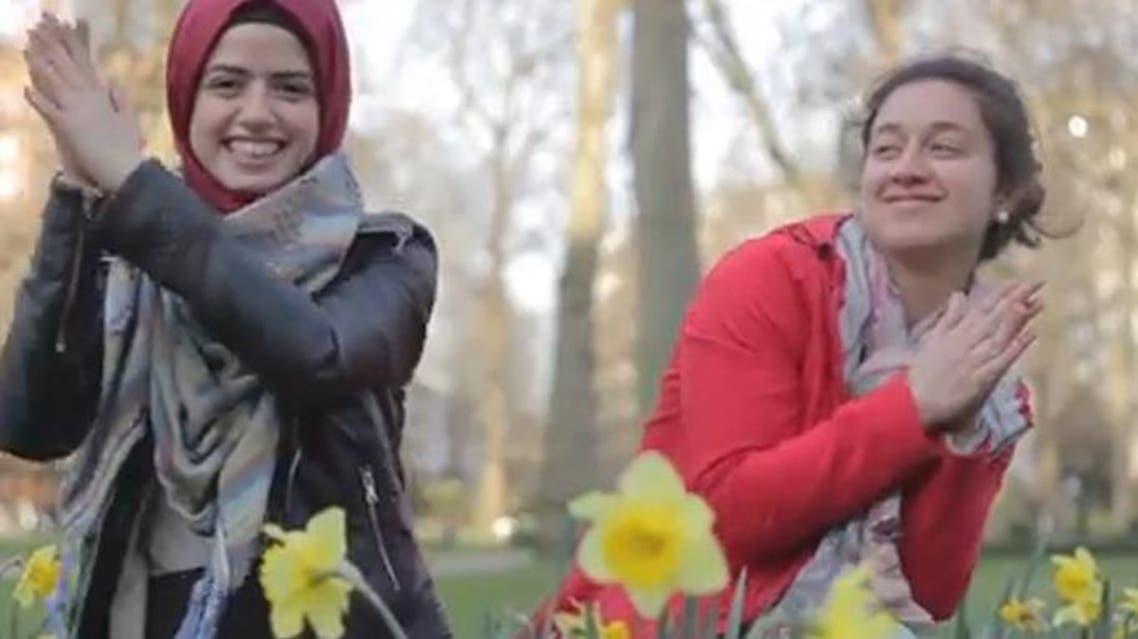 British Muslims show they're 'happy' with new video. (Al Arabiya)