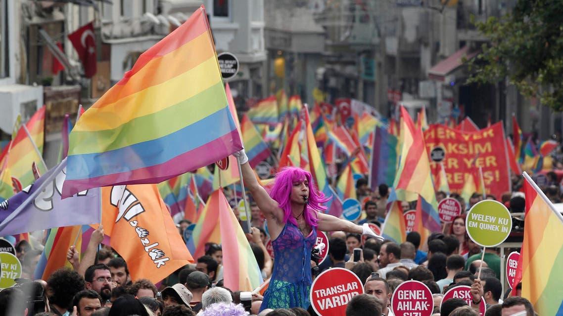 gay pride parade turkey reuters