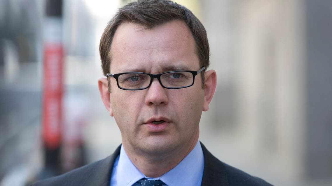 Former editor of the News of the World Andy Coulson arrives at the Old Bailey courthouse in London on April 16, 2014. (Reuters)