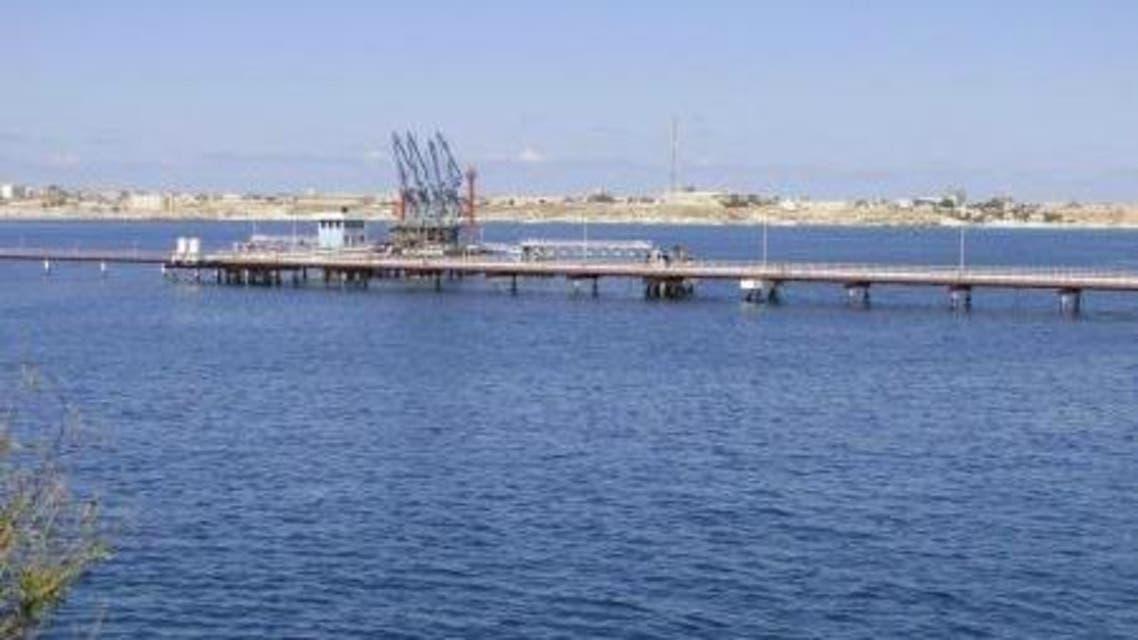 ميناء الحريقة النفطي الليبي