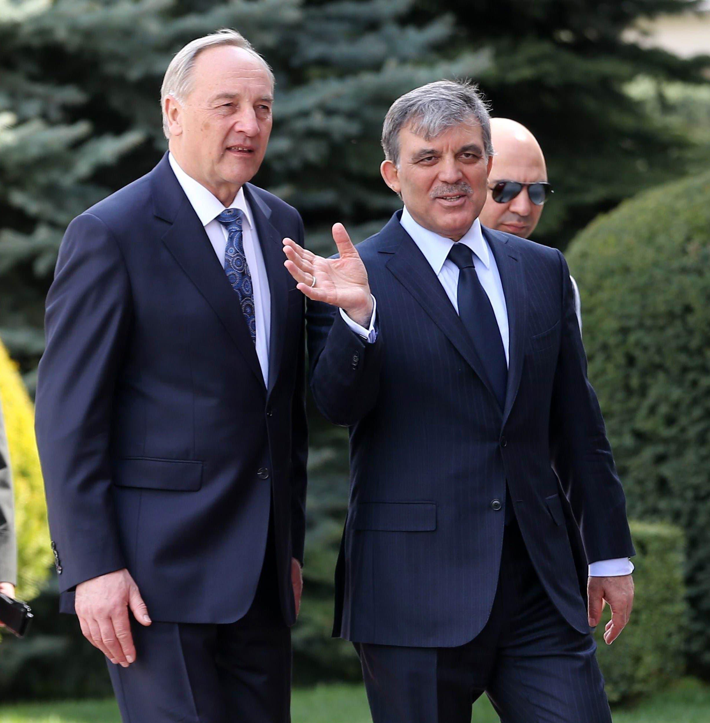 Turkey welcomes Latvian president