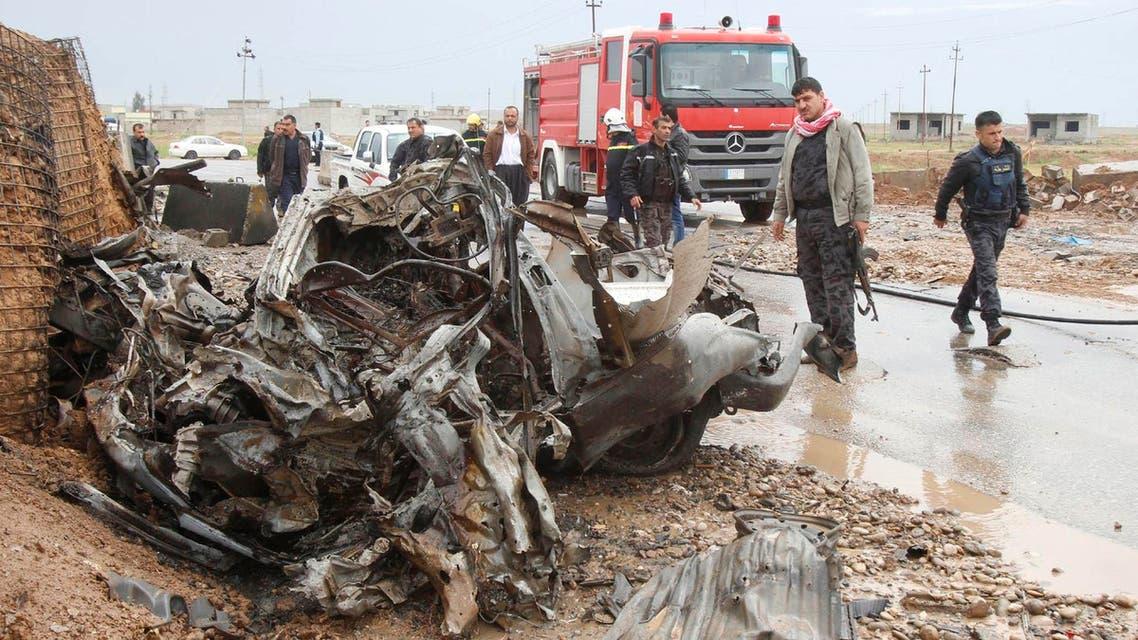 تفجير عنف انتحاري سيارة العراق قتل