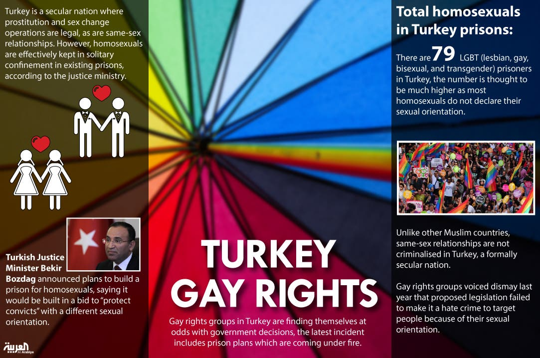 Infographic: Turkey gay rights