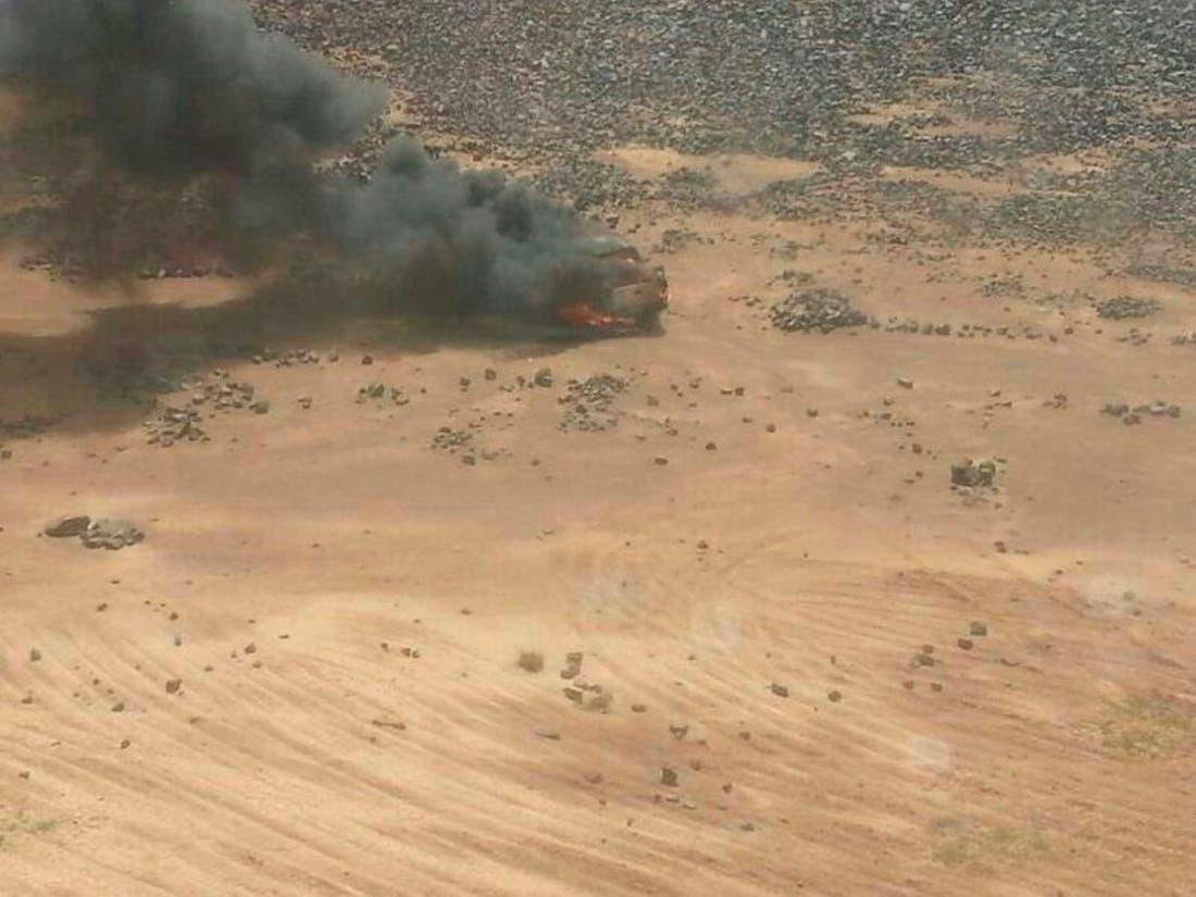 الأردن يستهدف آليات عسكرية سورية