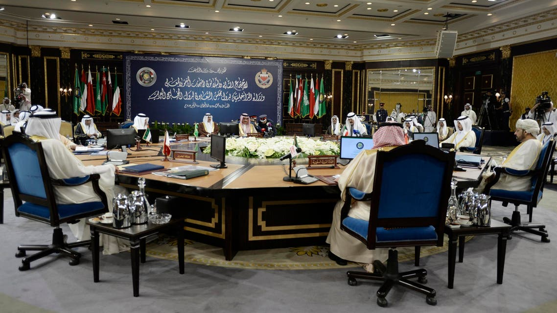 GCC Interior Ministers attend their annual conference in Manama. Reuters